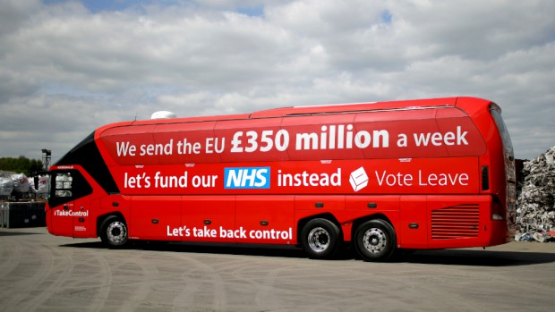Brexit disinformation Bus  Copy Keeper - Providing effective and creative copywriting solutions for stressed out Sole Traders and Entrepreneurs  https://keeper.marketing